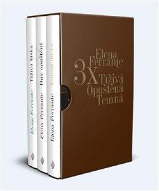 3x Elena Ferrante Tíživá. Opuštěná. Temná. - Ferrante Elena
