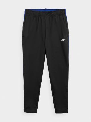 4F - Chlapecké sportovní kalhoty  - černý - Velikost 152 pánské 152