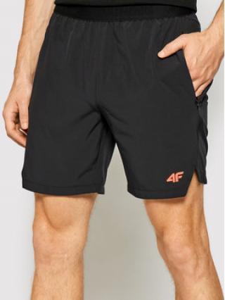 4F Sportovní kraťasy H4L21-SKMF014 Černá Regular Fit pánské S