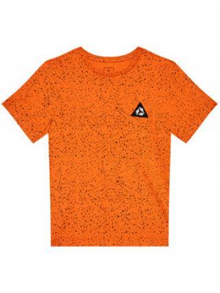 4F T-Shirt HJL21-JTSM006C Oranžová Regular F it pánské 122