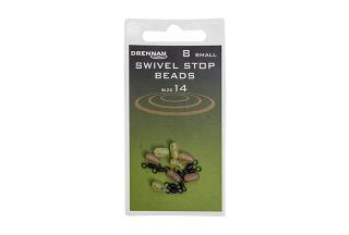 8ks - obratlíky s korálkem drennan swivel stop beads medium