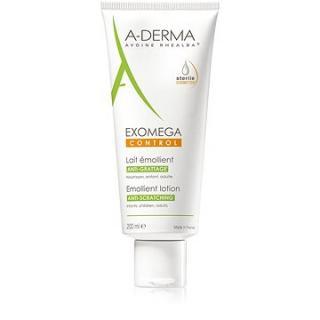 A-DERMA Exomega Control Emolienční  mléko pro suchou kůži se sklonem k atopii - sterilní kosmetika 2