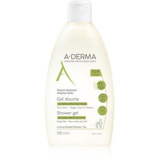 A-Derma Hydra-Protective extra jemný sprchový gel pro celou rodinu 500 ml dámské 500 ml