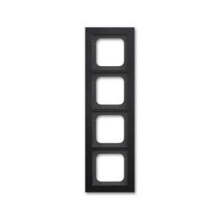 ABB Busch-axcent čtyřrámeček matná černá 2CKA001754A4706