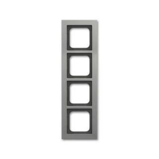 ABB Busch-axcent čtyřrámeček platinová 2CKA001754A4686