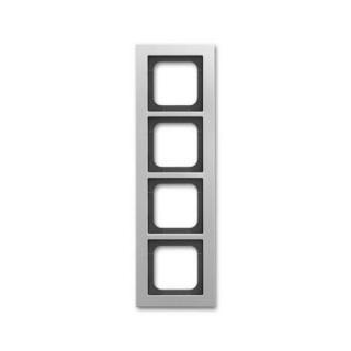 ABB Busch-axcent čtyřrámeček titanová 2CKA001754A4696