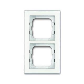 ABB Busch-axcent dvojrámeček bílé sklo 2CKA001754A4438