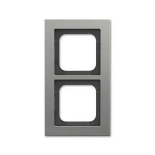 ABB Busch-axcent dvojrámeček platinová 2CKA001754A4684