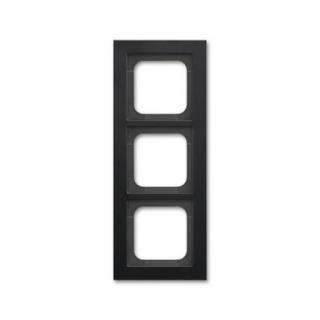 ABB Busch-axcent trojrámeček matná černá 2CKA001754A4705