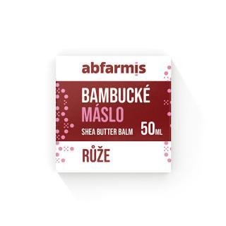 ABFARMIS Abfarmis Bambucké máslo růže 50 ml