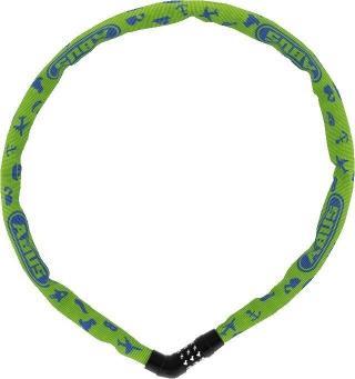 Abus Steel-O-Chain 4804C/75 Lime Symbols Green