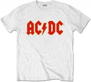 AC/DC Kids Tee Logo White  pánské 9 - 10 Y