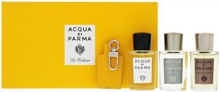 Acqua Di Parma Acqua Di Parma sada - 3 x 20 ml   kožený přívěsek pánské