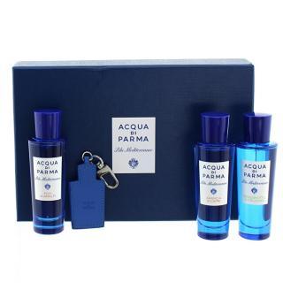 Acqua Di Parma Acqua Di Parma sada - 3 x 30 ml   kožený přívěsek pánské