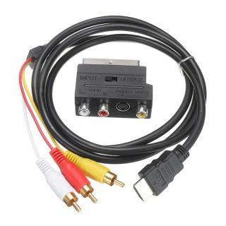 Adaptér HDMI na RCA AV / scart