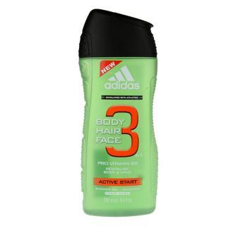 Adidas 3 Active Start  sprchový gel pro muže 250 ml pánské 250 ml