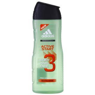 Adidas 3 Active Start  sprchový gel pro muže 400 ml pánské 400 ml