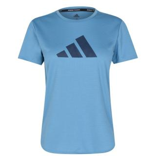 Adidas 3 Bar Logo T Shirt Ladies dámské Other L