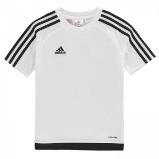 Adidas 3 Stripe Sereno T Shirt Junior Boys pánské Other S