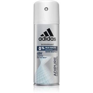 Adidas Adipure deodorant ve spreji pro muže 48H 150 ml pánské 150 ml