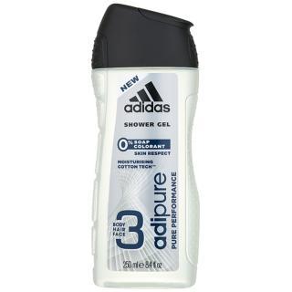 Adidas Adipure sprchový gel pro muže 250 ml pánské 250 ml