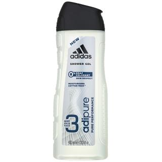 Adidas Adipure sprchový gel pro muže 400 ml pánské 400 ml