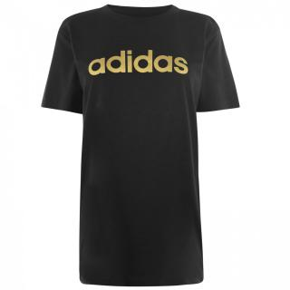 Adidas Foil QT T Shirt Ladies dámské Black | Other M