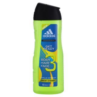 Adidas Get Ready! sprchový gel 3 v 1 pro muže 400 ml pánské 400 ml