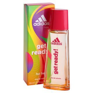Adidas Get Ready! toaletní voda pro ženy 50 ml dámské 50 ml
