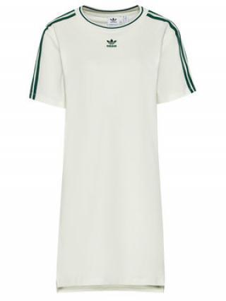 adidas Každodenní šaty Tennis Luxe Tee H56457 Bílá Regular Fit dámské 34