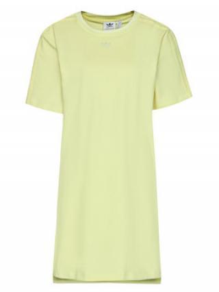 adidas Každodenní šaty Tennis Luxe Tee H56458 Žlutá Regular Fit dámské 32