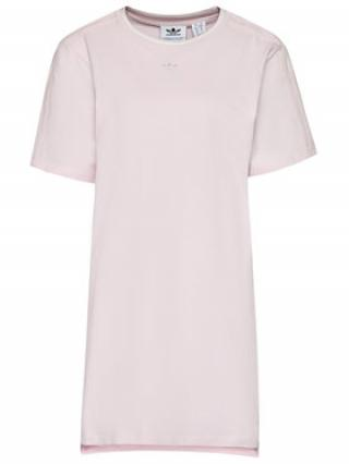 adidas Každodenní šaty Tennis Luxe Tee H56459 Růžová Relaxed Fit dámské 34