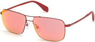 Adidas OR0003 66U Shine Red Aniline/Mirror Red pánské S