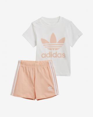 adidas Originals Trefoil Souprava dětská Bílá Béžová dámské 104