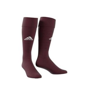 Adidas Performance SANTOS SOCK 18, bordová/bílá, EU 46 - 48