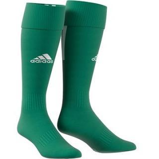 Adidas Performance SANTOS SOCK 18, zelená/bílá, EU 40 - 42