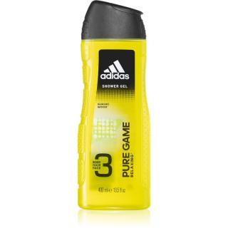 Adidas Pure Game sprchový gel na obličej, tělo a vlasy 3 v 1 400 ml pánské 400 ml