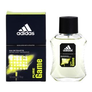 Adidas Pure Game toaletní voda pro muže 50 ml pánské 50 ml