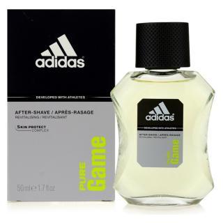 Adidas Pure Game voda po holení pro muže 50 ml pánské 50 ml