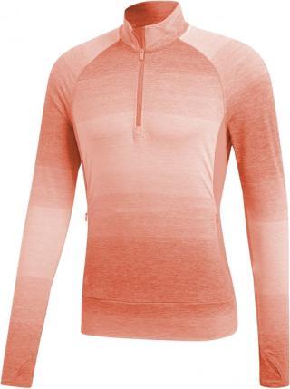 Adidas Rangewear 1/2 Zip Womens Sweater Chalk Coral XS dámské Pink XS