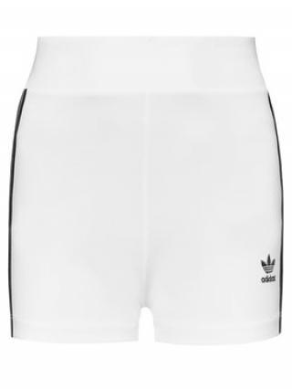 adidas Sportovní kraťasy Tennis Luxe Booty H56461 Bílá Slim Fit dámské 32