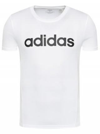 adidas T-Shirt Design 2 Move FL0302 Bílá Regular Fit pánské S