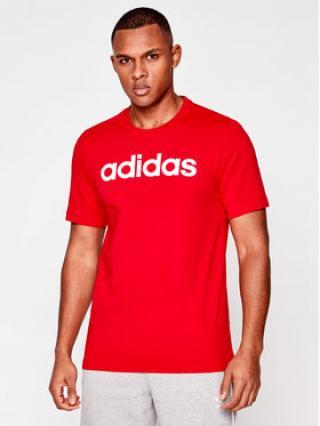 adidas T-Shirt E Lin Tee FM6223 Červená Standard Fit pánské S