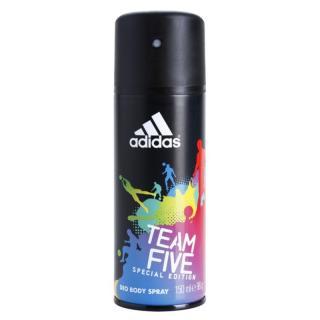 Adidas Team Five deodorant ve spreji pro muže 150 ml pánské 150 ml