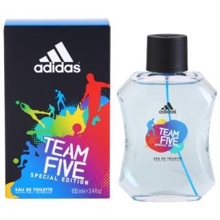 Adidas Team Five toaletní voda pro muže 100 ml pánské 100 ml