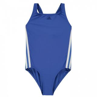 Adidas Three Stripe Swimsuit Junior  Girls dámské Other XL