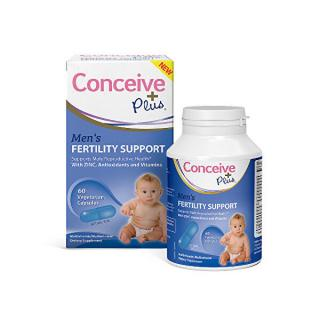 Adiel Concieve Plus Mens Fertility Support 60 kapslí