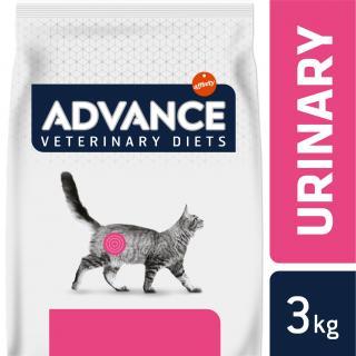 ADVANCE-VETERINARY DIETS CAT Urinary 3KG