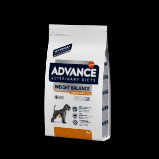 ADVANCE-VETERINARY DIETS Dog Weight Balance Medium/Maxi 3kg