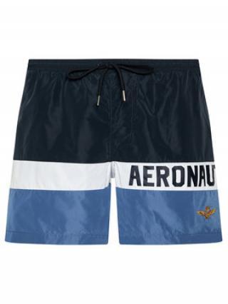 Aeronautica Militare Plavecké šortky 211BW198CT1537 Tmavomodrá Regular Fit pánské 54